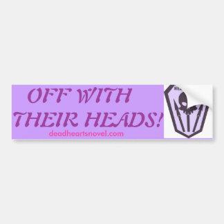 Headhunters bumper sticker - Dead Hearts Novels