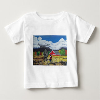 Heading for Shelter Baby T-Shirt