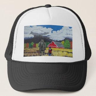 Heading for Shelter Trucker Hat