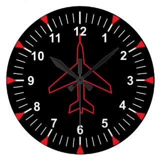 Heading Indicator Large Clock