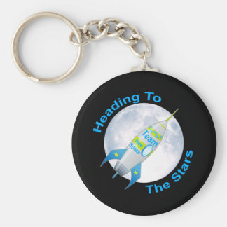 Heading to the Stars Key Ring