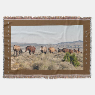 Heading to Water Throw Blanket