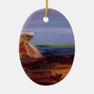 Headland at Long Sands Christmas Ornament