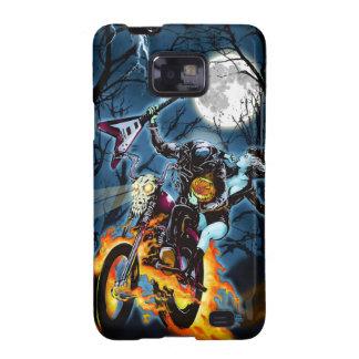 Headless Biker Horseman Samsung Galaxy S2 Cases