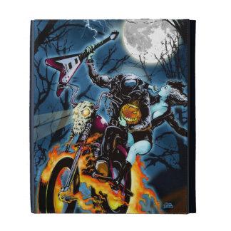 Headless Biker Horseman iPad Folio Cases