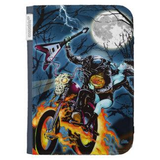 Headless Biker Horseman Kindle Keyboard Covers