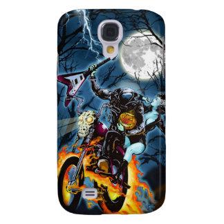 Headless Biker Horseman Galaxy S4 Cases