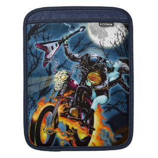 Headless Biker Horseman iPad Sleeve