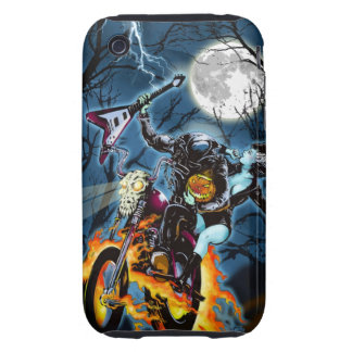 Headless Biker Horseman iPhone 3 Tough Covers