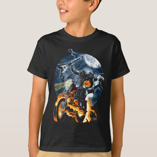 Headless Biker Horseman T-Shirt