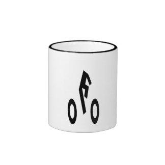 Headless Biker Ringer Mug