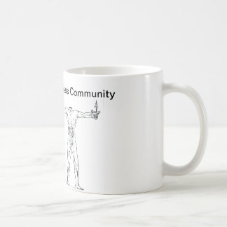 Headless cup of Bataille Basic White Mug