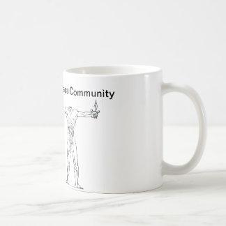 Headless cup of Bataille Basic White Mug