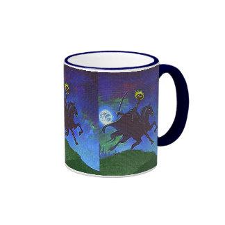 Headless Horseman in the Blue Light Ringer Mug