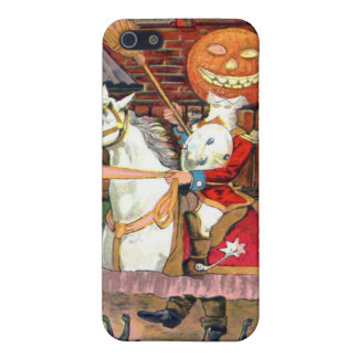 Headless Horseman Jack O Lantern Black Cat Case For iPhone 5/5S