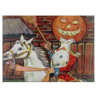 Headless Horseman Jack O Lantern Black Cat Cutting Boards