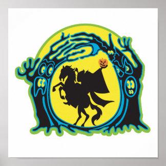 headless horseman print
