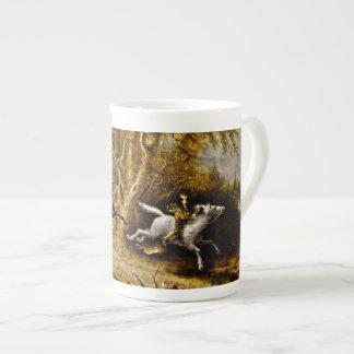 Headless Horseman Pursuing Ichabod Crane Bone China Mug