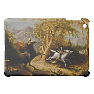 Headless Horseman Pursuing Ichabod Crane iPad Mini Cover