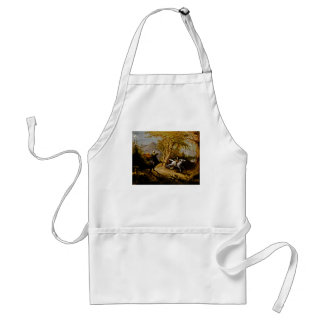 Headless Horseman Pursuing Ichabod Crane Standard Apron