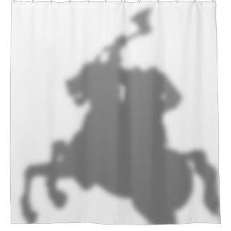 Headless Horseman Shadow Shower Curtain