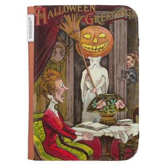 Headless Jack O'Lantern Trick R' Treat Kindle Folio Case