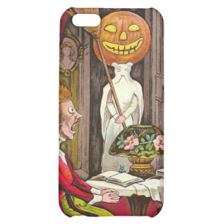 Headless Jack O'Lantern Trick R' Treat Case For iPhone 5C