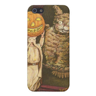 Headless Man Jack O' Lantern Owl Pumpkinhead Case For The iPhone 5