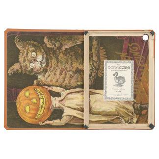 Headless Man Jack O' Lantern Owl Pumpkinhead Cover For iPad Air