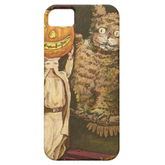 Headless Man Jack O' Lantern Owl Pumpkinhead iPhone 5 Cover