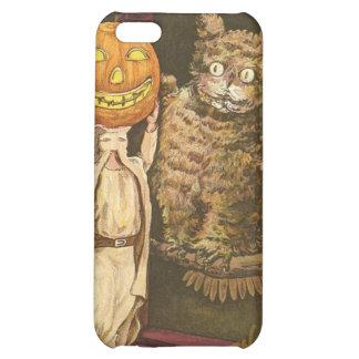 Headless Man Jack O' Lantern Owl Pumpkinhead iPhone 5C Cover