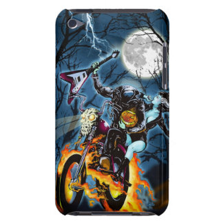 Headless Metal Horseman Barely There iPod Cover