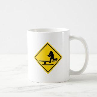 Headless Pedestrian Crossing Basic White Mug