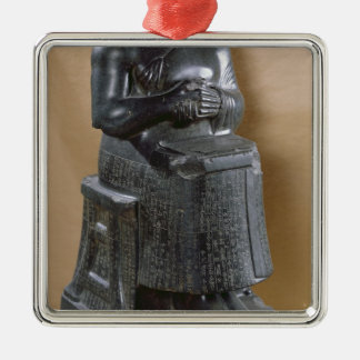Headless statue of Prince Gudea  as an Christmas Ornament