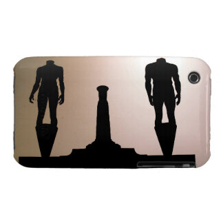 Headless Statues Silhouette iPhone 3 Case