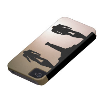 Headless Statues Silhouette Case-Mate iPhone 4 Case