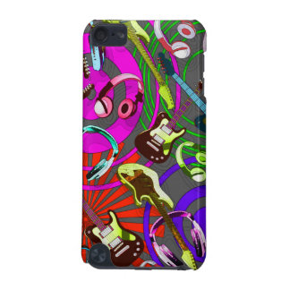 Headphone and Guitars iPod Touch 5G Cover