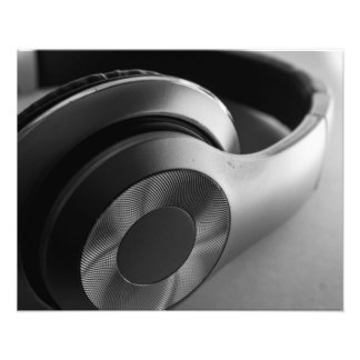 "Headphone Form 20"" x 16"" Print Photograph"