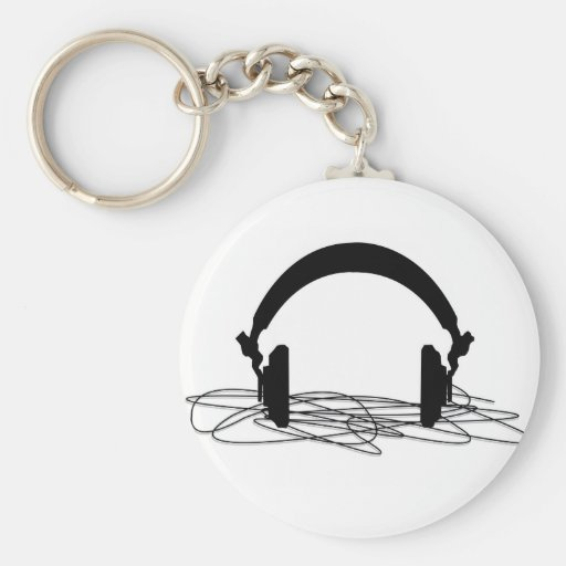 headphone key chains