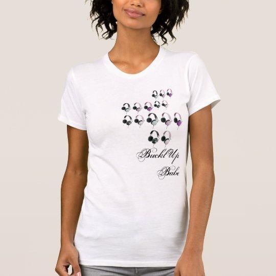 Headphone Rewind Girlie T-Shirt