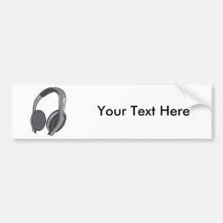 Headphones - Earphones - Headsets Audio 2 Bumper Sticker