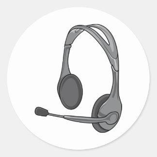 Headphones - Earphones - Headsets Audio Stickers