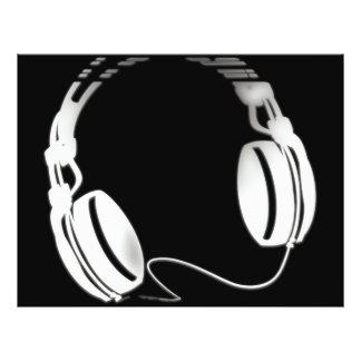 Headphones Flyer
