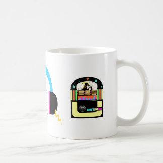 headphones & jukebox mug