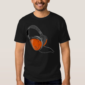headphones mens tshirt