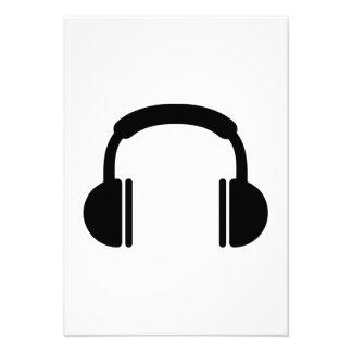 Headphones music DJ Personalized Announcements