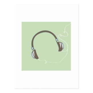 Headphones Postcards