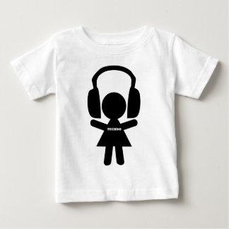 Headphones Techno Music Baby T-Shirt