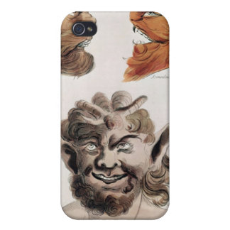 Heads of Evil Demons iPhone 4 Cover
