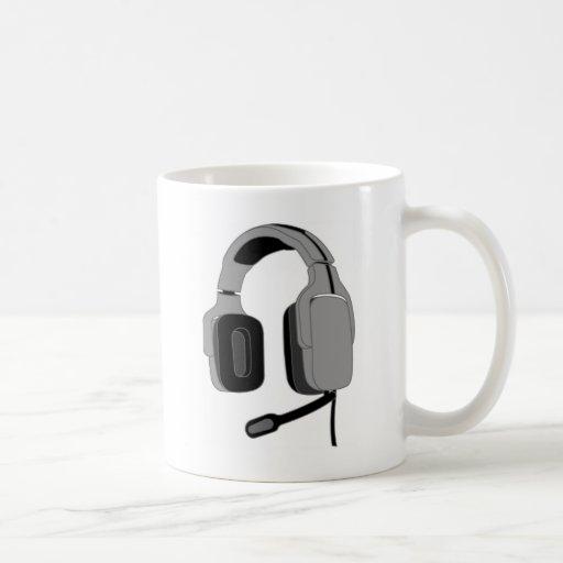 Headset Coffee Mugs